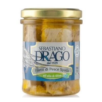 Filets d'espadon à l'huile d'olive extra vierge Bio