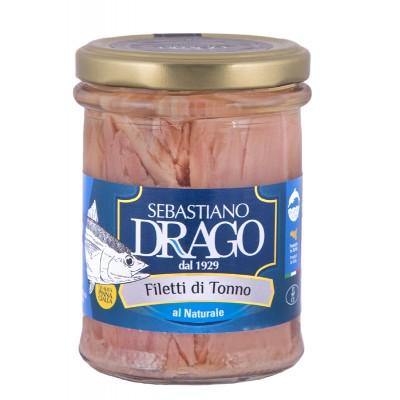 Filets de thon au naturel