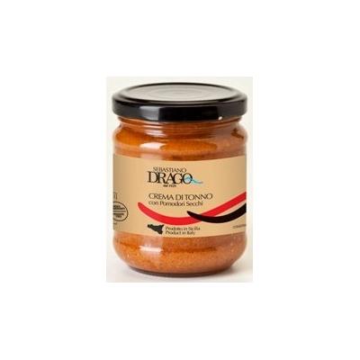 Crème de thon avec  tomates séchées
