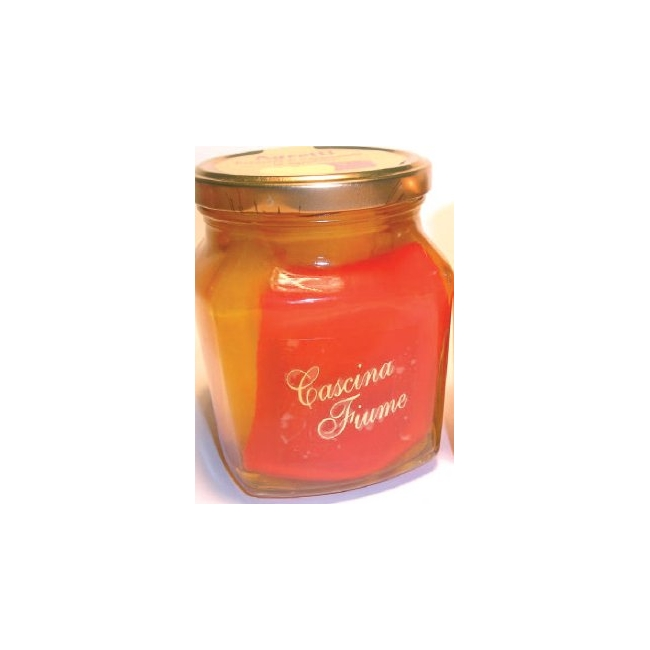Agretti poivrons en aigre-doux