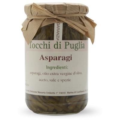 Asperges Vertes Fines à l'huile d'olive extra vierge