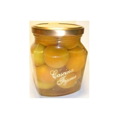 Abricots au Sirop et Vin  Moscato