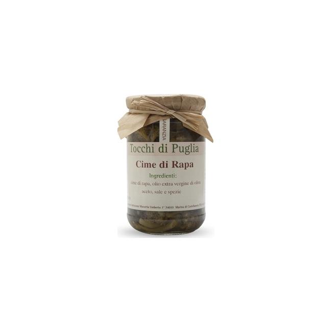 Cime di Rapa à l'Huile d'Olive Vierge Extra