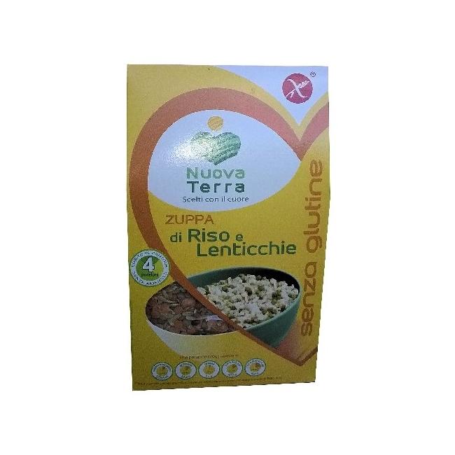 Soupe de Riz Complet et Lentilles