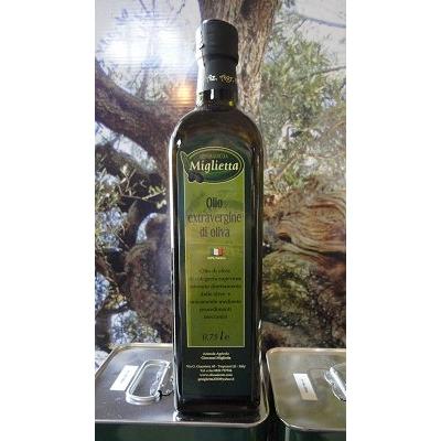 Huile d'olive extra vierge bouteille de 0,75 l