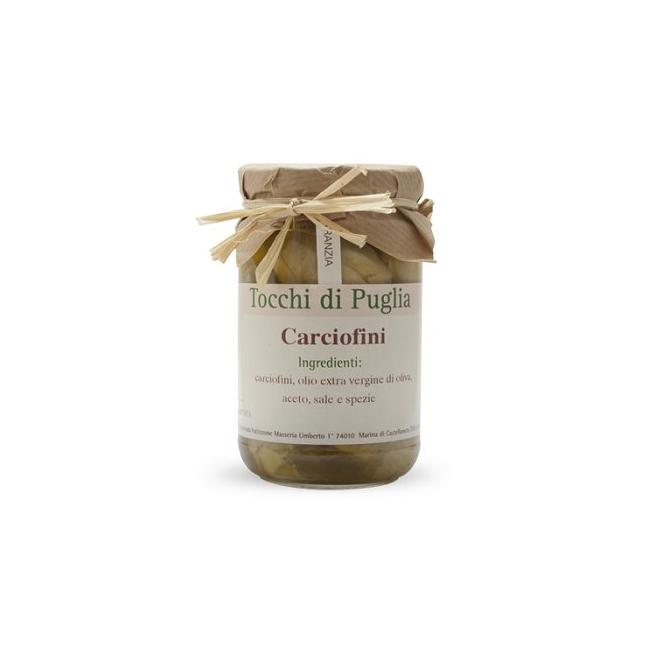 Cœurs d'artichaut à l'huile d'olive