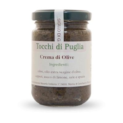 Crème d'olives à l'huile extra-vierge d'olive