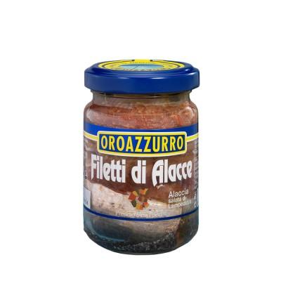 FILETS DE ALACCE à l'ile Extra Vierge d'Olive