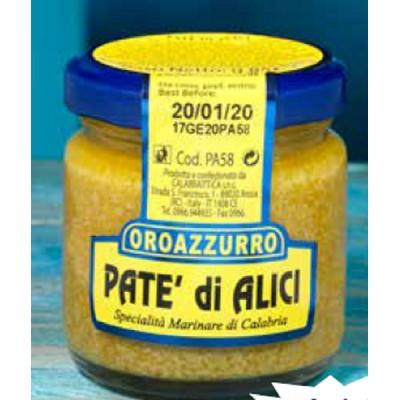 Paté d'Anchois à l'Huile d'Olive  Extra Vierge